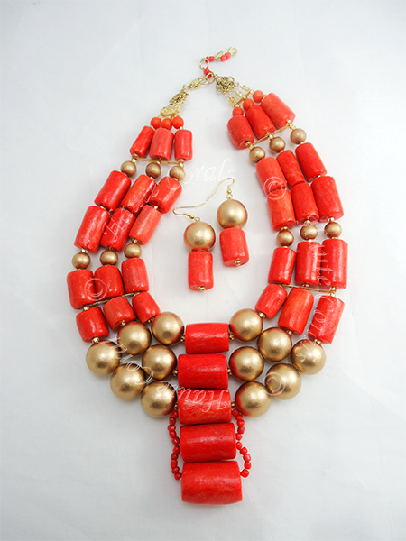 tribal accessories, tribal glam, tribal jewelry, crystal statement necklace, layered statement necklace, bib statement necklace, statement necklace under 100, vintage statement necklace, beaded statement necklace, african accessories, unique statement necklace, beaded statement necklace, nigerian wedding beads, nigerian beads, traditional engagement beads, traditional wedding beads, nigerian traditional wedding beads, coral beads, statement necklace, coral statement necklace