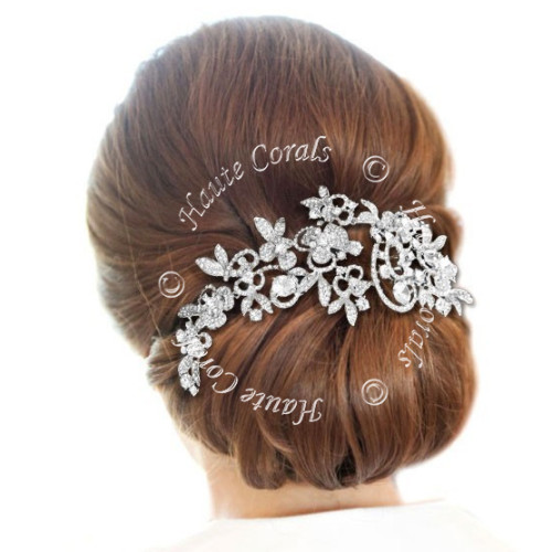 Wedding hair accessory, Hair jewelry, bridal hair jewelry, wedding haircomb, bridal hairpiece, wedding headpiece, swarovski hair comb, vintage hair comb, vintage bridal hair comb, Bridal Hair Comb, Brooch Hair Comb, rhinestone hair comb, bridesmaid hair comb, Crystal hair comb, prom hair comb, bridal hair comb, crystal bridal comb, bridal headpiece