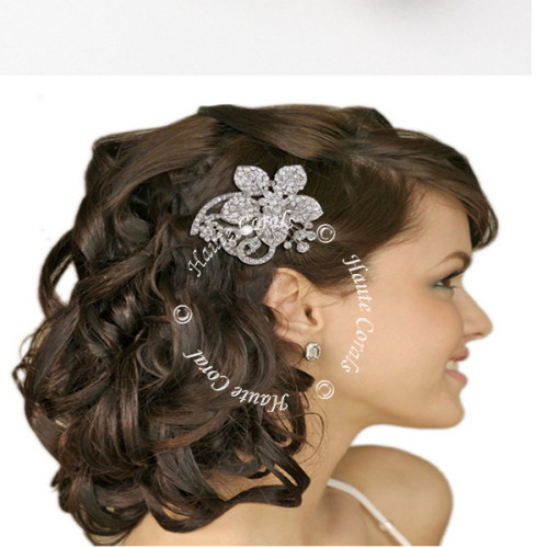 bridal hair bling, Wedding hair accessory, Hair jewelry, bridal hair jewelry, wedding haircomb, bridal hairpiece, wedding headpiece, swarovski hair comb, vintage hair comb, vintage bridal hair comb, Bridal Hair Comb, Brooch Hair Comb, rhinestone hair comb, bridesmaid hair comb, Crystal hair comb, prom hair comb, bridal hair comb, crystal bridal comb, bridal headpiece, bridal hair bling, Austrian Crystal Daisy Flower Hair Comb, Rhinestone Peacock Feather Bridal Hair Comb