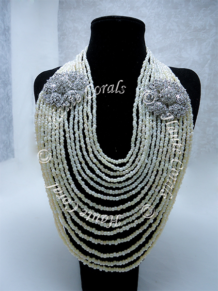 tribal accessories, tribal glam, tribal jewelry, crystal statement necklace, layered statement necklace, bib statement necklace, statement necklace under 100, vintage statement necklace, beaded statement necklace, african accessories, unique statement necklace, beaded statement necklace, cream statement necklace, brooch necklace, pearl statement necklace, statement necklace, beaded statement necklace, mother-of-pearl beads, nigerian beads, nigerian wedding beads, nigerian beads necklace, nigerian traditional wedding beads, nigerian coral beads, traditional wedding beads, engagement beads, african coral beads, nigerian male beads