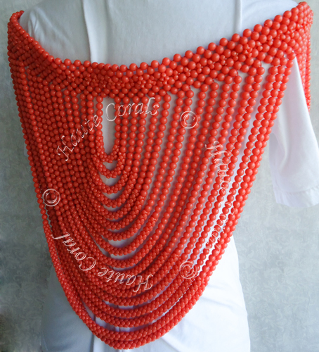 Handmade jewelry, Nigerian coral shoulder beads, tribal accessories, tribal glam, tribal jewelry, statement necklace under 100, beaded statement necklace, African accessories, unique statement necklace, beaded statement necklace, coral shoulder beads, traditional coral shoulder beads, bridal shoulder beads, Nigerian shoulder beads, coral shoulder beads, Nigerian Wedding beads, Nigerian engagement beads, Nigerian traditional wedding beads, coral necklace, coral statement necklace, Nigerian coral beads, African Bridal Jewelry set, HauteCorals,