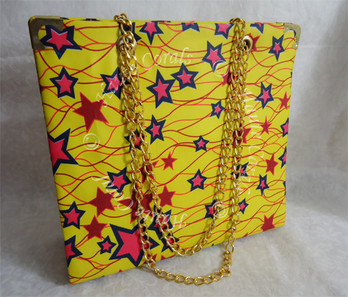 Yellow ankara purse, yellow fabric clutch, tribal purse, Ankara tote bag, handmade clutch, ankara wax print tote bag, handmade ankara tote bag, tote bag, african accessories, african fashion, african print handbag, african fabric, african bag
