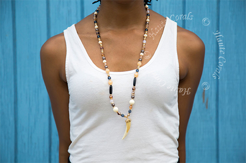 horn pendant necklace, horn necklace, bohemian necklace, boho necklace, boho chic necklace, Handmade jewelry, tribal accessories, tribal glam, tribal jewelry, statement necklace under 50, vintage statement necklace, beaded statement necklace, African accessories, unique statement necklace, beaded statement necklace, Nigerian Wedding beads, thea, Nigerian engagement beads, Nigerian traditional wedding beads, African Bridal Jewelry set, traditional engagement beads, traditional wedding beads, TribalGlam,