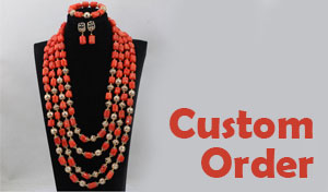 tribal accessories, tribal glam, tribal jewelry, crystal statement necklace, layered statement necklace, bib statement necklace, statement necklace under 100, vintage statement necklace, beaded statement necklace, african accessories, unique statement necklace, beaded statement necklace, african accessories, Multistrand Beaded Bracelet, statement bracelet, Nigerian Wedding beads, nigerian engagement beads, Nigerian traditional wedding beads, coral necklace, coral statement necklace, nigerian coral beads, nigerian wedding coral beads