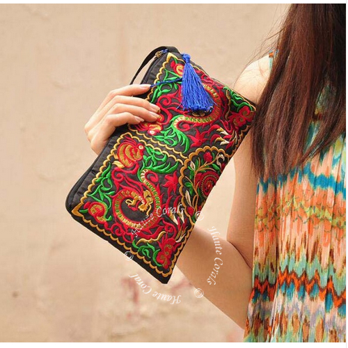 ankara purse, fabric clutch, tribal purse, handmade clutch, ankara wax print tote bag, handmade ankara tote bag, tote bag, african accessories, african fashion, african print handbag, african fabric, african bag, Hmong clutch bag, embroidered clutch, Thai purse, bohemian purse, boho clutch, colorful clutch, evening bag, gifts for her, bridesmaid gifts under $50, Boho Chic